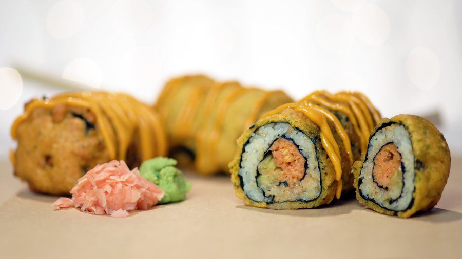 Photo of Give a Spicy Tuna Roll the State Fair (aka Deep-Fried) Treatment: Combine a sush…