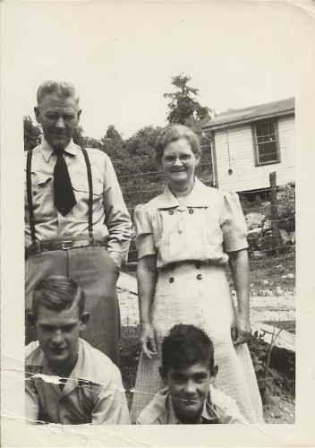 Hugh & Ella Overton- great grandparents
