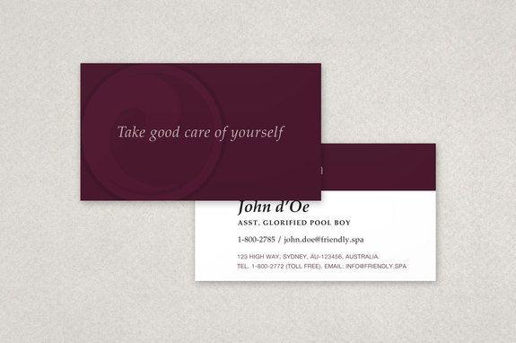 Peaceful Spa Recreation Center Business Card Template Inkd Business Card Template Business Cards Creative Templates Business Card Template Design