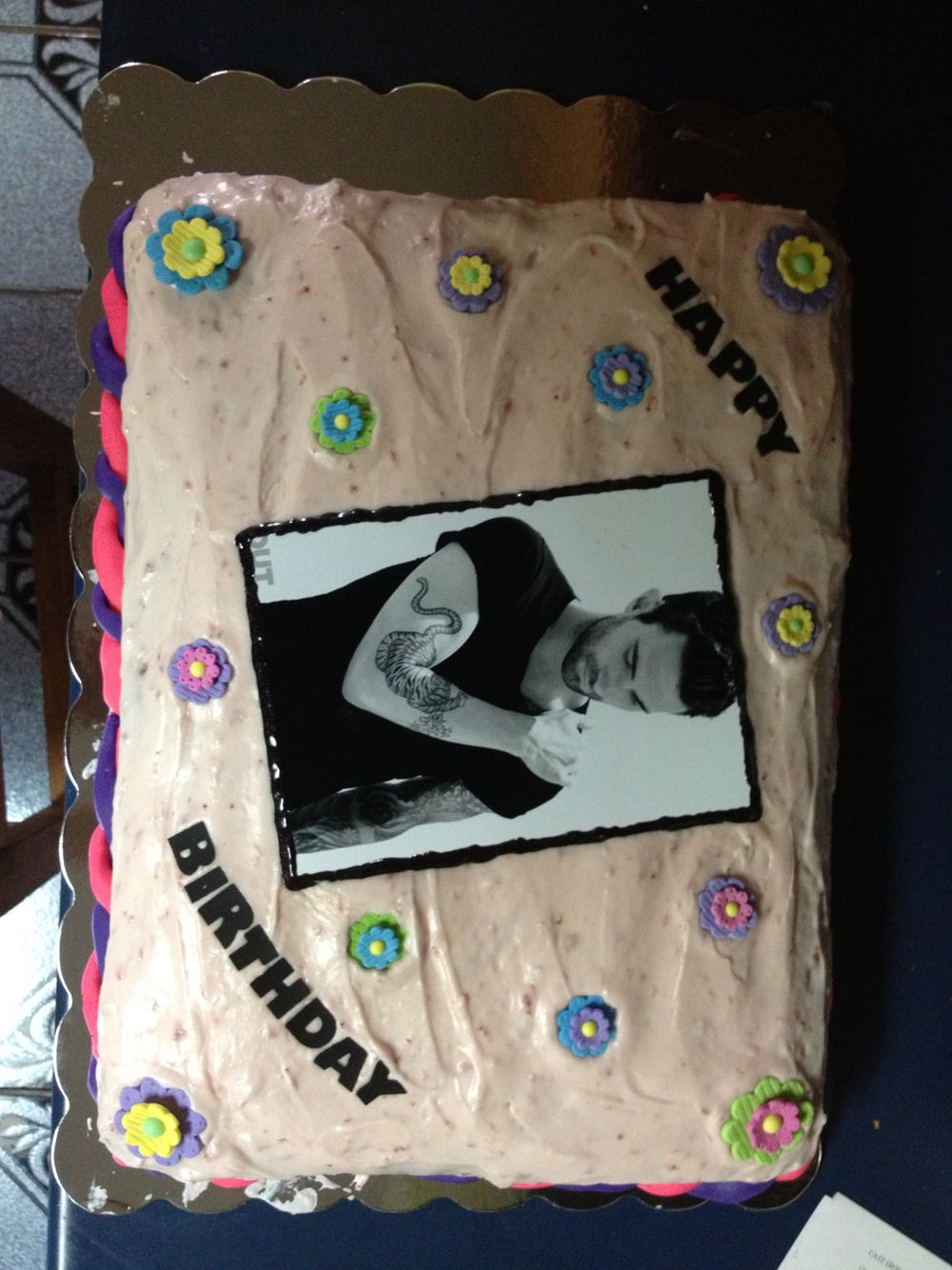 Adam Levine Birthday Cake Cupcakes Cakes Pinterest Adam