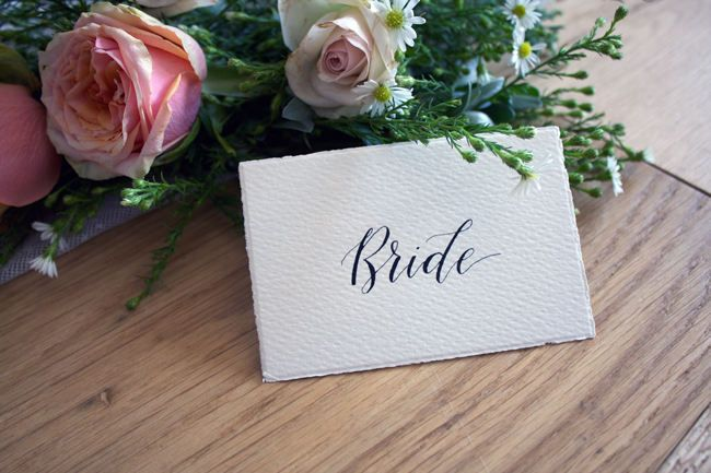 rustic vintage wedding handmade paper place cards wedding placecard calligraphy name cards wedding