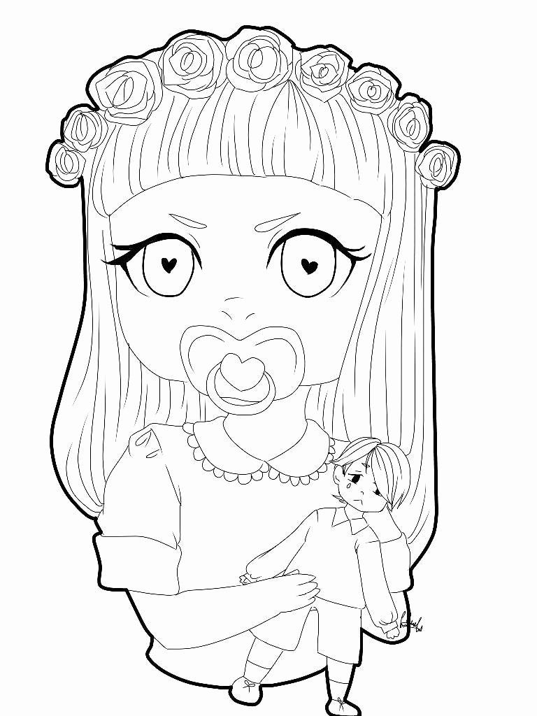 32 Melanie Martinez Coloring Page In 2020 Millie Marotta