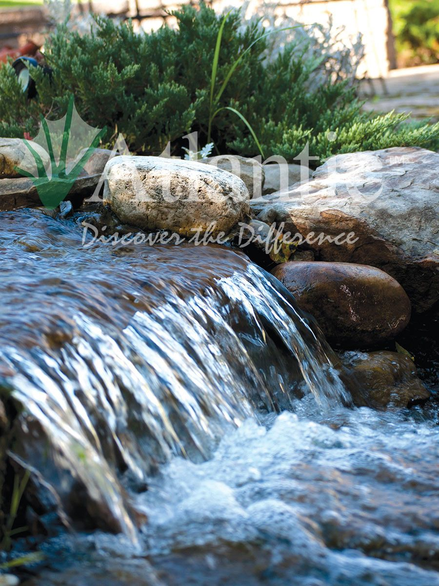 Ordinaire Add The Site And Sound Of Water To Your Backyard Landscape This Summer With  An Atlantic Water Gardens Water Feature Www.atlanticwatergardens.com