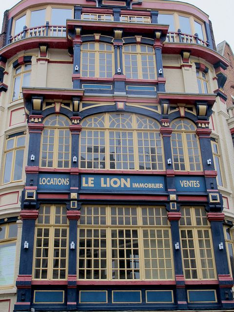 Ancien magasin - Place de Bettignies, Lille, France