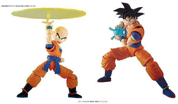 Bandai Figure Rise Krillin Model Kit Figure USA Dragon Ball Z Figuarts Goku