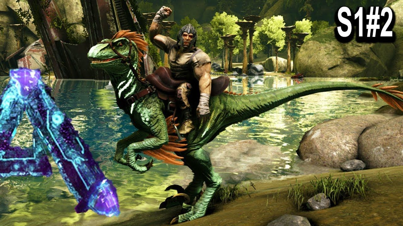 ARK ABERRANT RAPTOR TAMING + MOVING TO A SAFE PLACE?? Ark