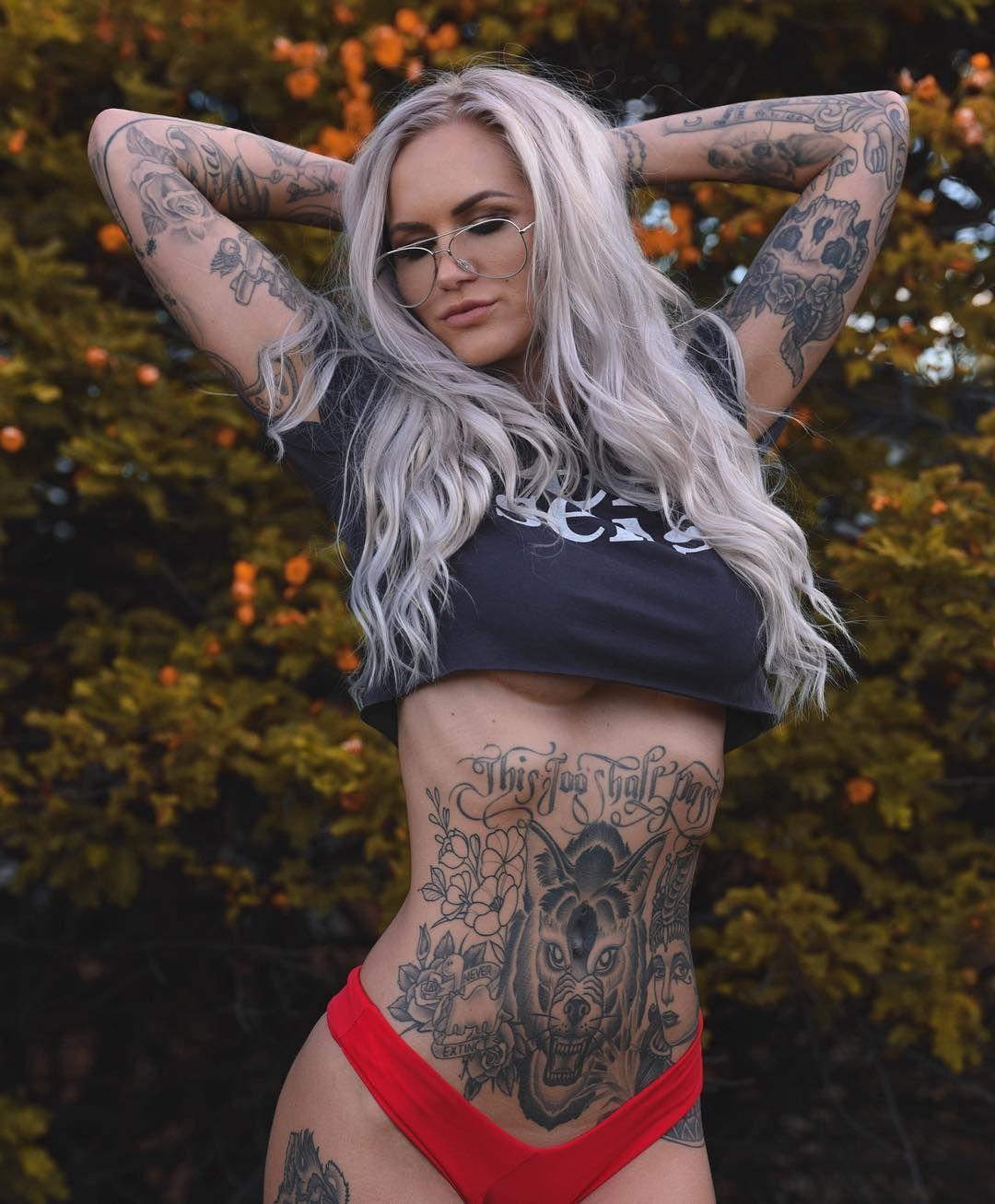 Australian Tattoo Model Shady Brady Tatuaje Fete Fete și Femeie