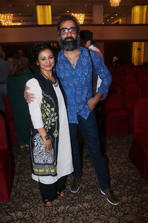 Divya Dutta and Ranvir Shorey at the release of Fil