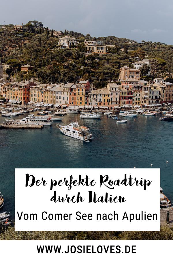 Tipps für einen Roadtrip vom Comer See nach Apulien.