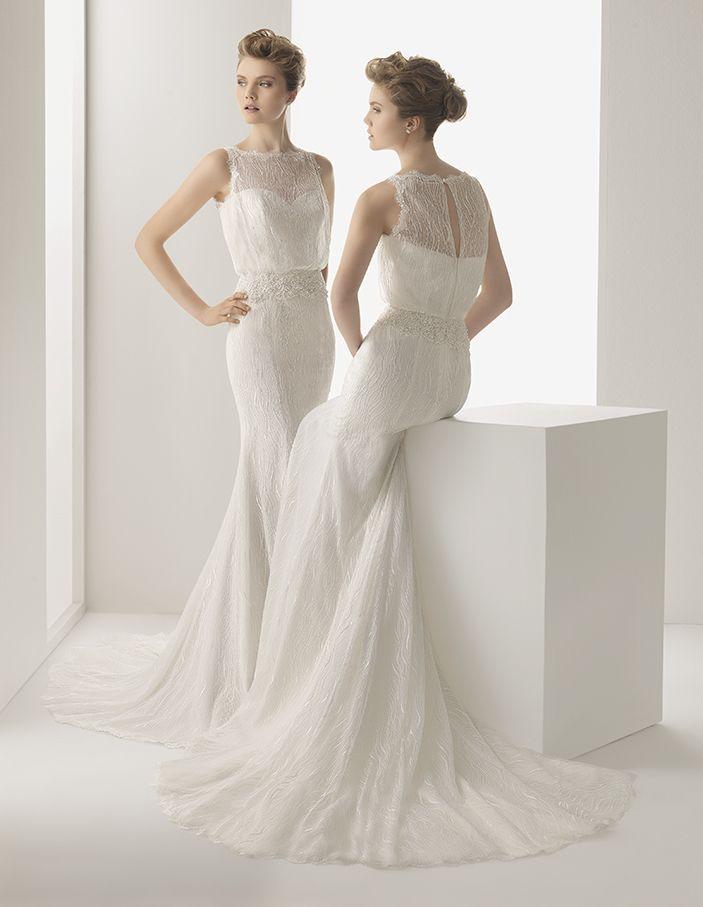 Soft by Rosa Clará Wedding Dresses 2014 | Rosa clara, Rosa clara ...