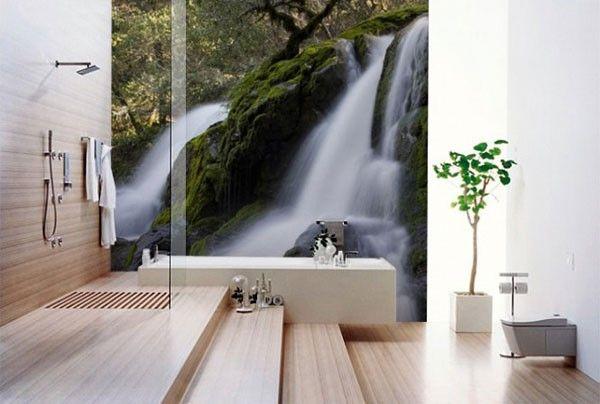 Behang In Badkamer : Behangpapier badkamer badkamers ideeen geeft heel veel