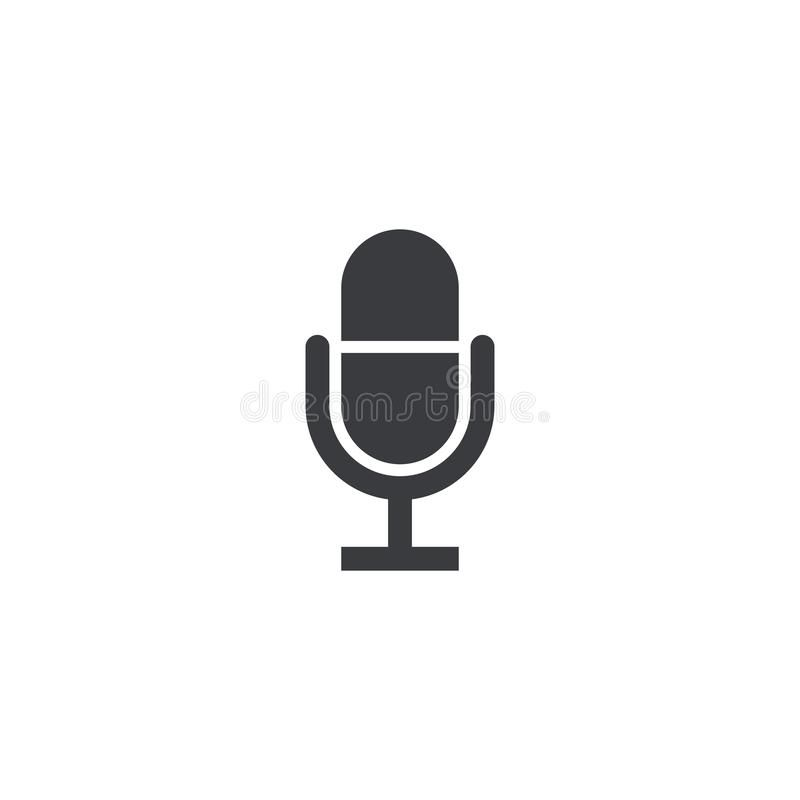 Microphone Icon Vector Recorder Symbol Microphone Shape Record Sign Interfac Sponsored Ad Ad Vector Microphone Sig Microphone Icon Symbols Icon