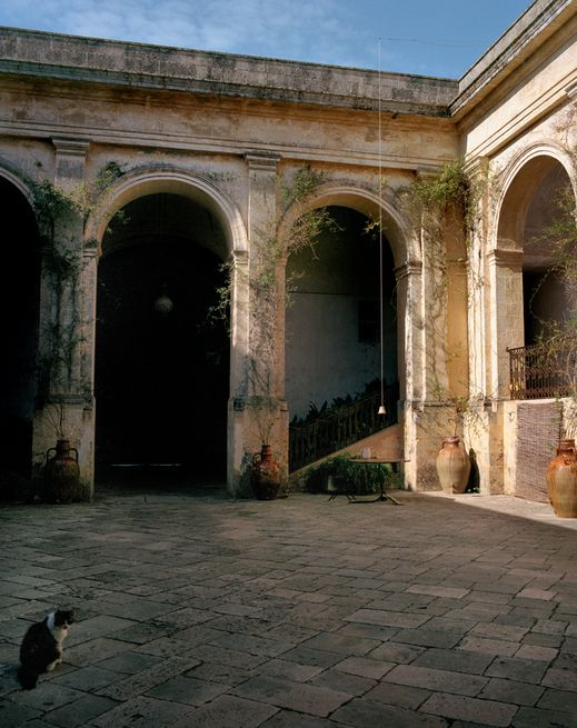 Un palais incroyable dans les Pouilles en Italie