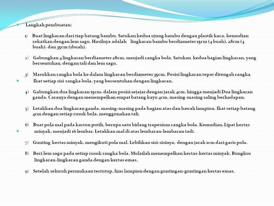 Cara membuat lampion (Page 2)