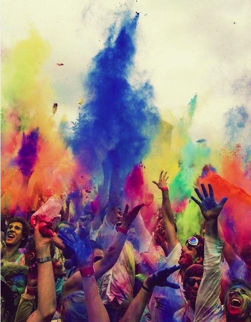 Image Spark Cherryblossomgel Holi Festival Of Colours Holi Festival Color Festival