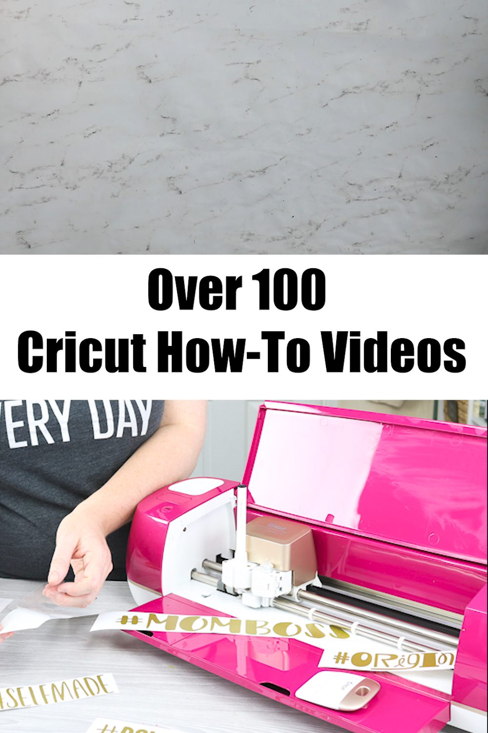 Over 100 Cricut How-to Videos to Learn Your Cricut Machine