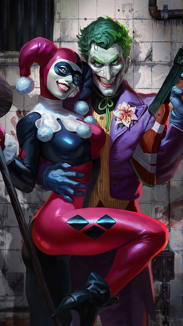 Harley Quinn Et Le Joker : harley, quinn, joker, Harley, Quinn