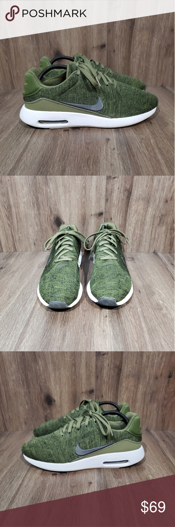 Intensive Ant nothing  Nike Air Max Modern Flyknit Sneakers olive green | Nike air max modern,  Flyknit, Nike air max