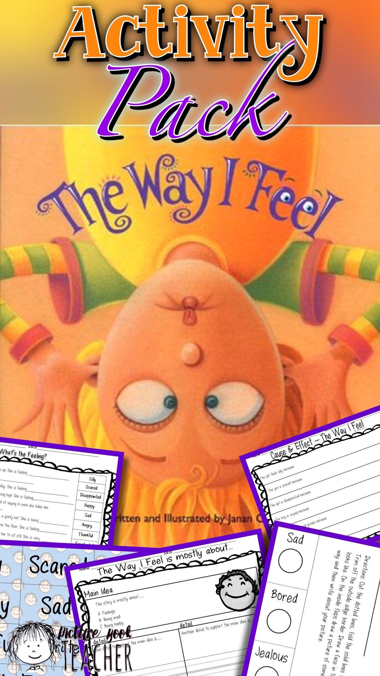 Recognizing Feelings Inspired By The Way I Feel By Janan