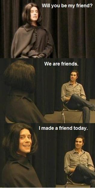 My Experience Making Friends Team Starkid Starkid Very Potter