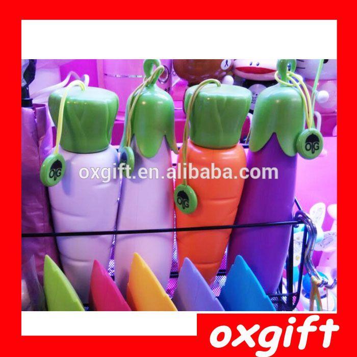 OXGIFT Creative eggplant carrot pepper vegetables umbrella, personality umbrella, beach umbrella, UV umbrella eggplant