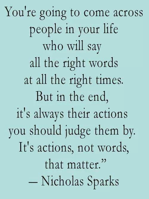 Actions Speak Louder Than Words Quotes Actions speak louder than words! | Verbage | Quotes, Words, Sayings Actions Speak Louder Than Words Quotes