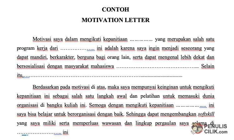 Contoh Motivation Letter Untuk Volunteer Ten New Thoughts About Contoh Motivation Letter Unt Volunteer Motivation Lettering Weekly Lesson Plan Template