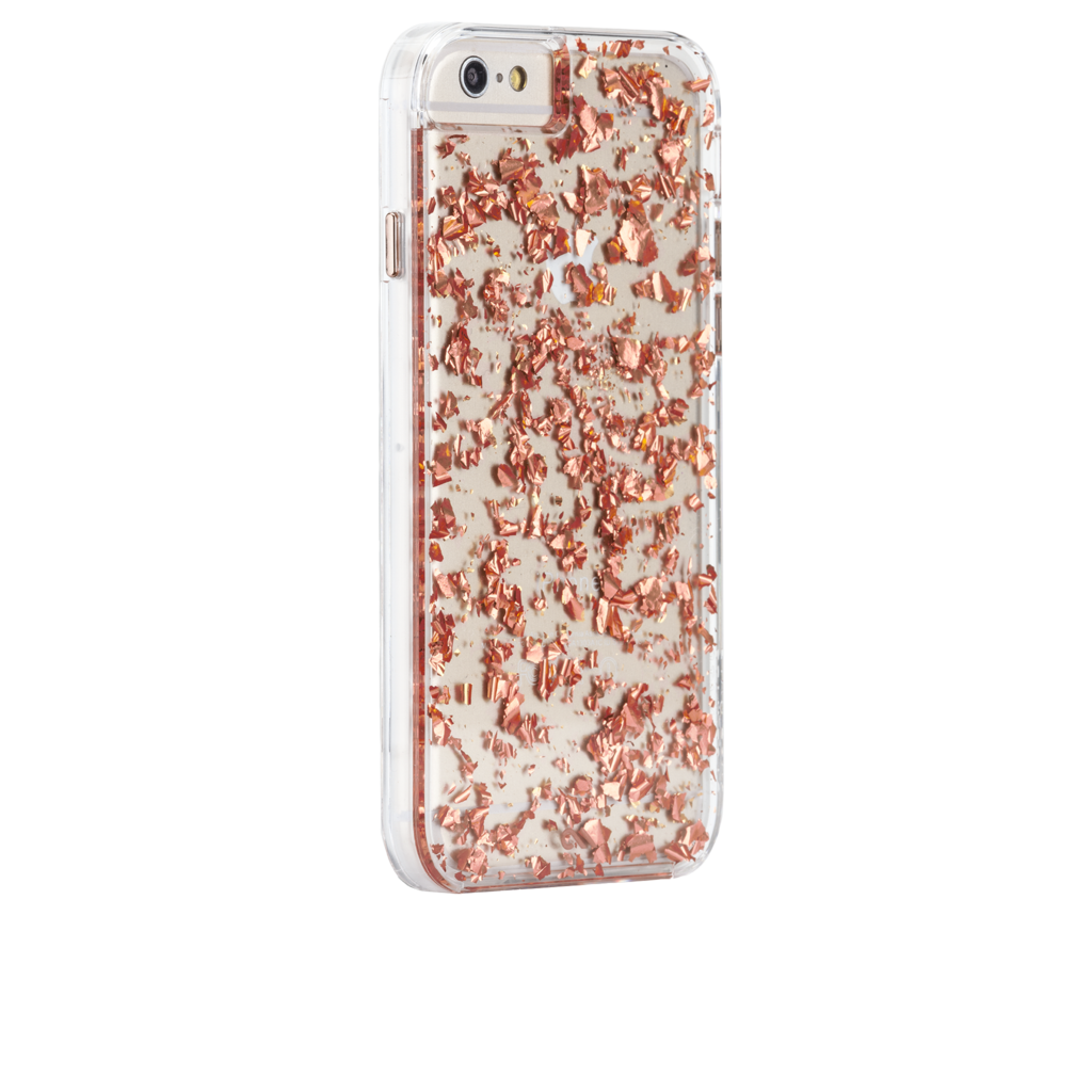 Rose Gold Laser Sequin Phone Case For iphone X 10 iphone 8