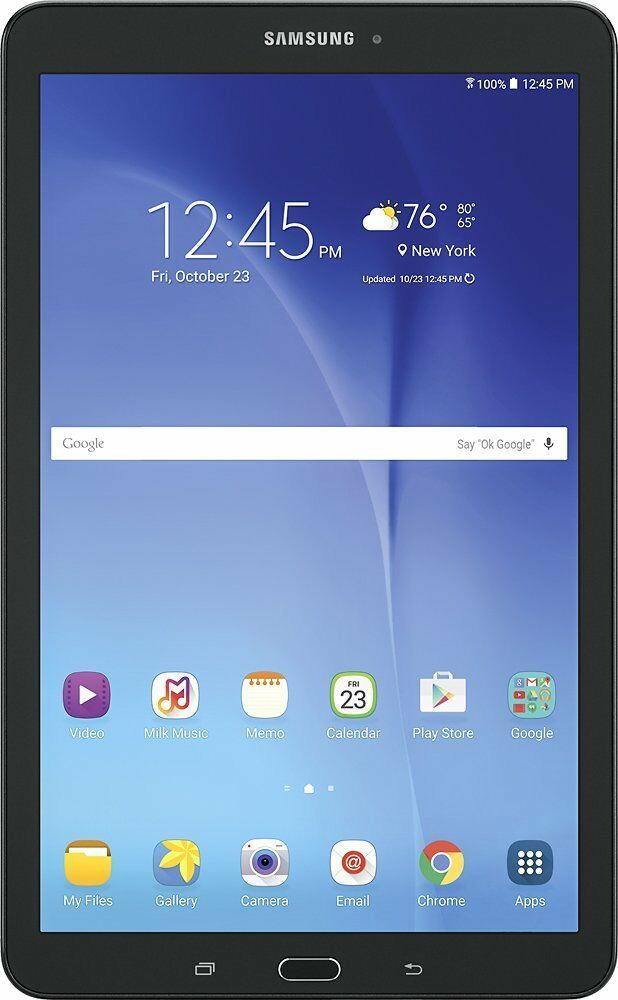 "NEW Samsung Galaxy Tab E 9.6"" QuadCore 16GB Android 5.1"
