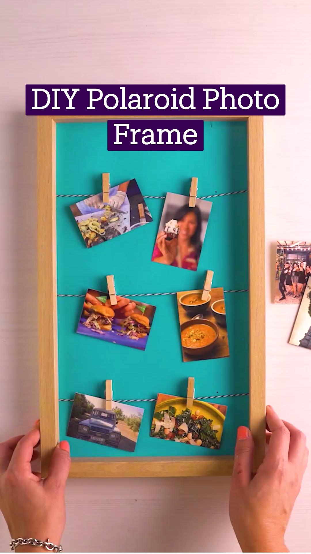 DIY Polaroid Photo Frame