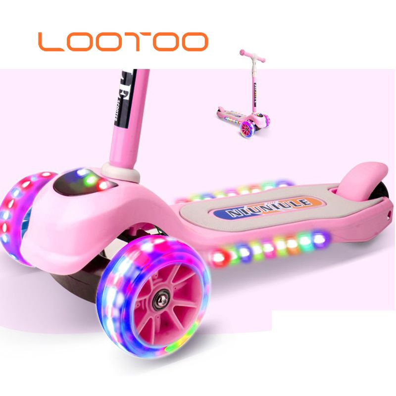 Cheap Price New Riding Racing Toy Girls Scooter Age 3 Kids 3