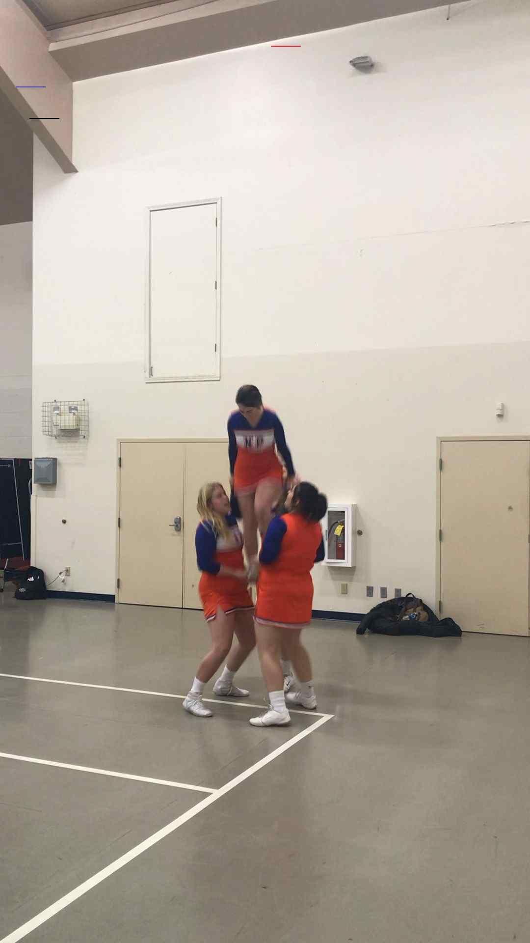 Varsity Cheer Stunt Cheerleadingstunting En 2020 Danseuse Photographie Souplesse