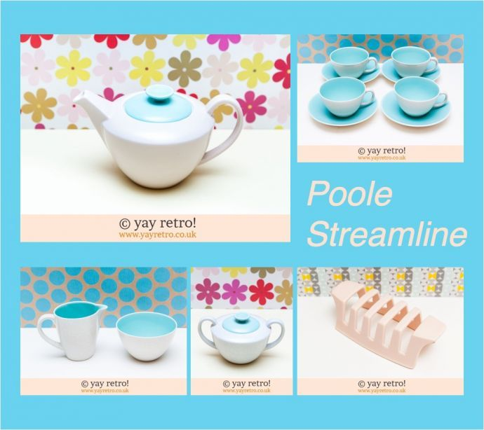 How to spot Contour & Streamline Poole Pottery - Retro, Vintage China, Glassware, Kitchenalia, fabrics and books - yay retro!