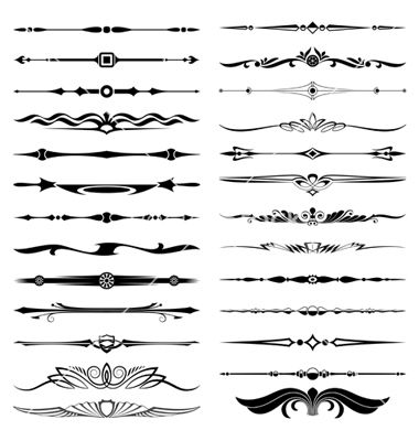 vector dividers
