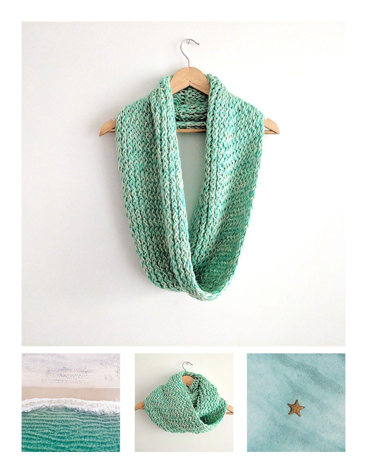 Loom Knit Infinity Scarf Pattern Free Loom Knitting Favorites