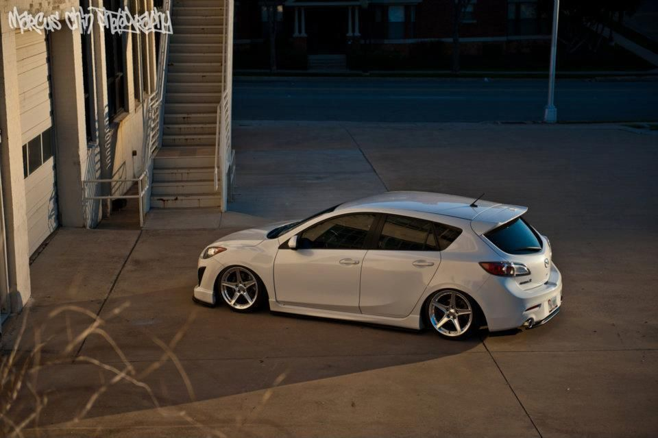 Modified Mazda3 Hatchback My Dream Vehical Blue Or White