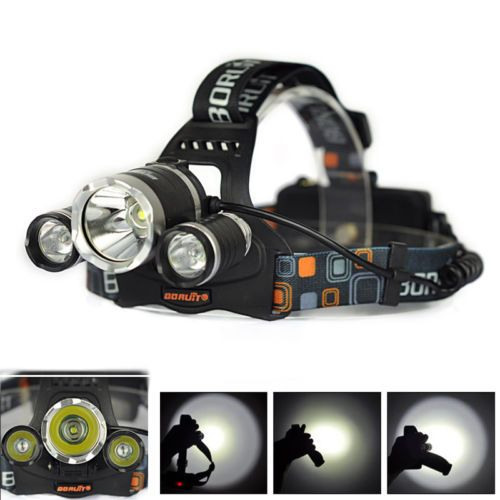 BORUiT 12000Lm 3 XXM-L T6 LED Headlamp Rechargeable Headlight Flashlight 2x18650 https://t.co/hXfVSW4B8V https://t.co/gtVm9ALres