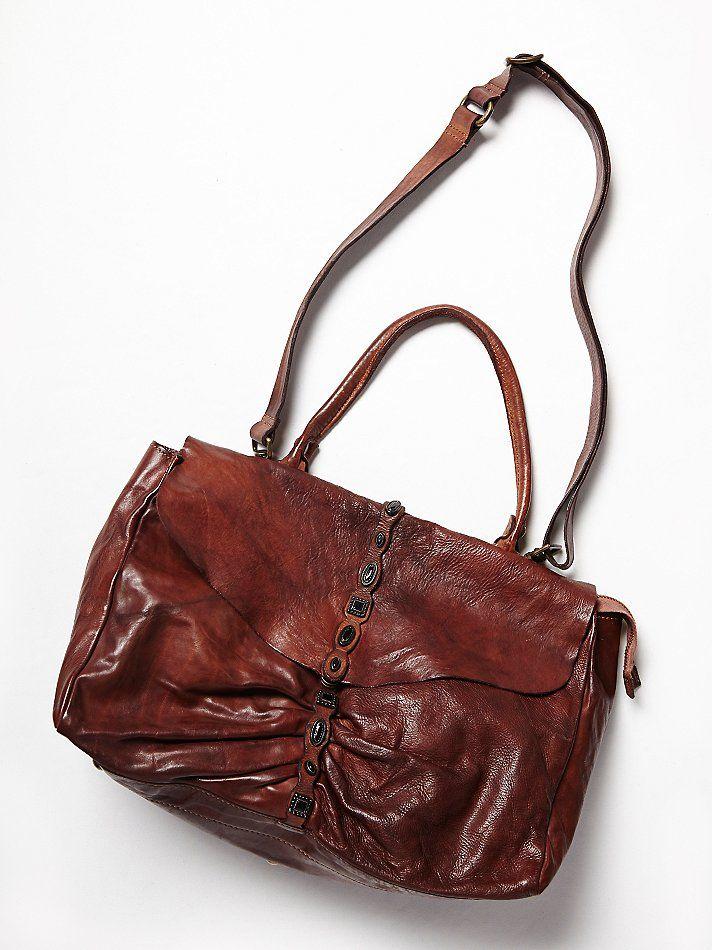 Free People Castoni Distressed Bag