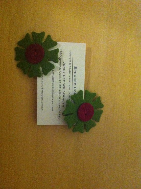 Floral Hair clips by SprucedCorner on Etsy