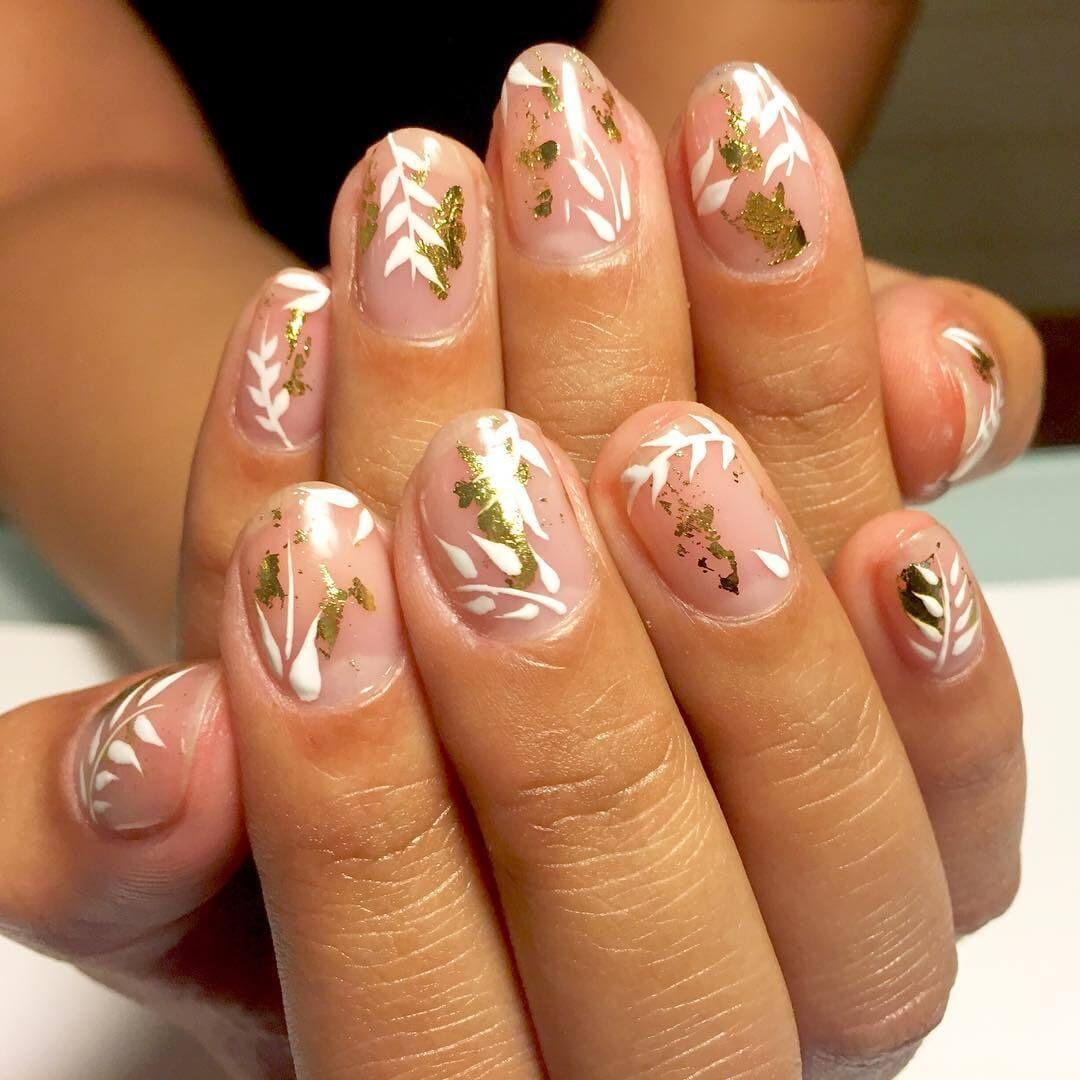 cool nail designs for short nails 1 - Nail Design Ideas For Short Nails