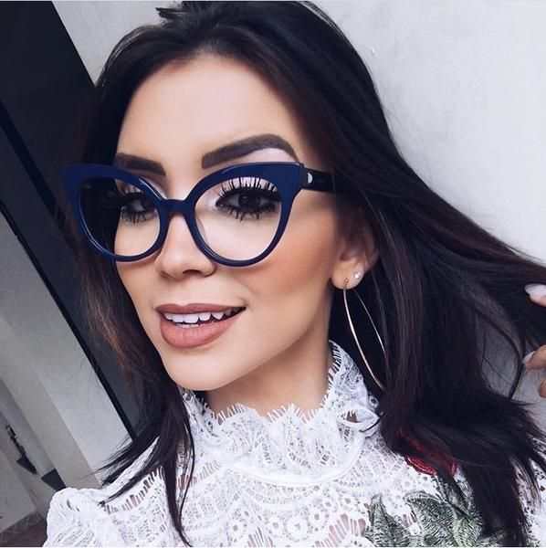 1e63f918a6  FASHION  NEW MOLNIYA 2018 Fashion Reading Eyeglasses Optical Glasses  Frames New Glasses Women Frame Ultra Light Frame Clear Glasses