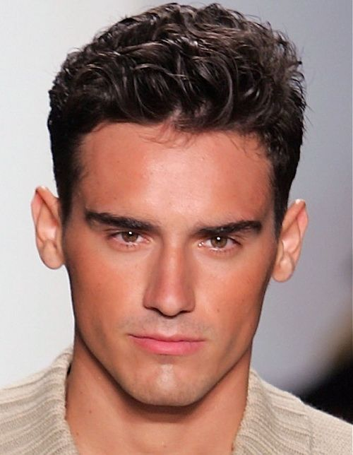 Haircut For Men 2014 With Long Face Hairstylesnews Com Mens Hairstyles Short Haircuts For Men Mens Hairstyles
