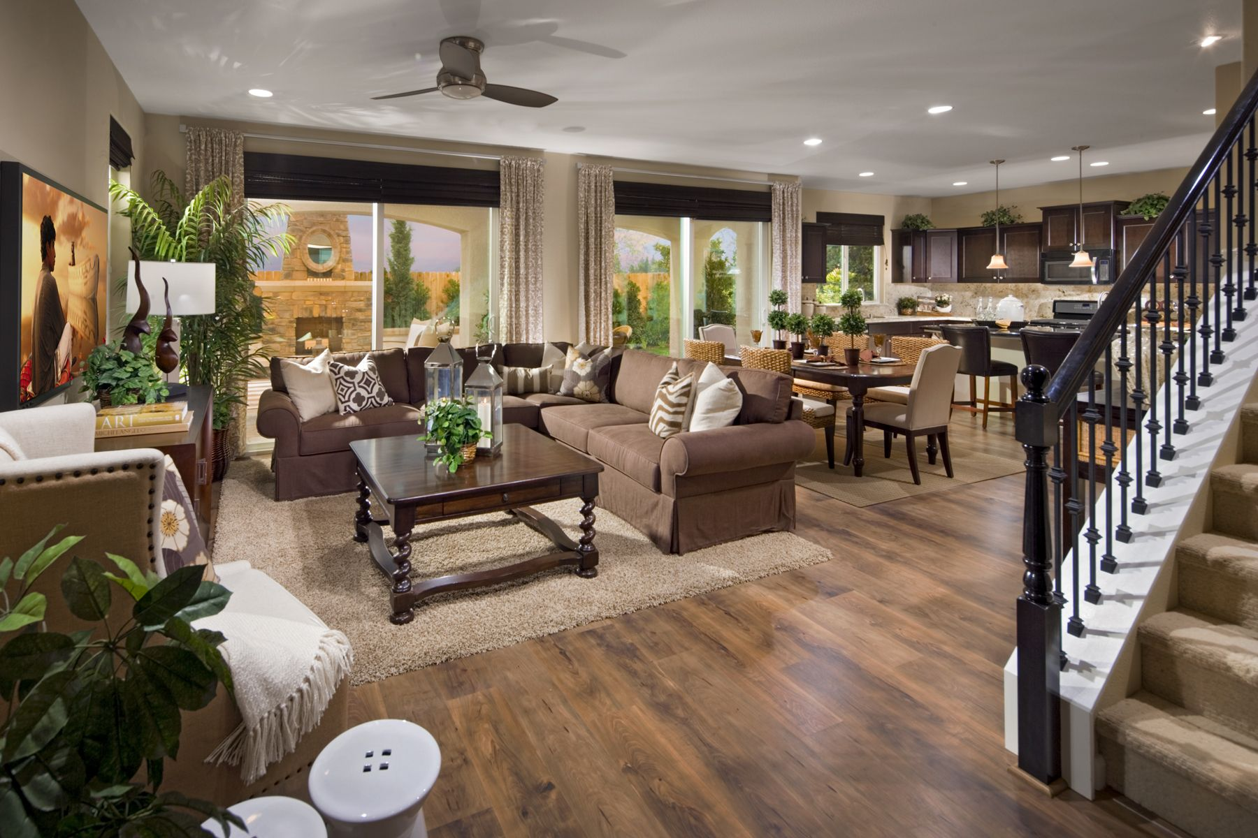 The Living Room In Our Jadestone Model Is Extra Spacious The Open