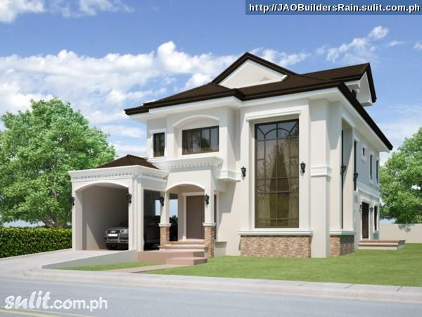 House roofing design philippines house and home design for Affordable house design philippines