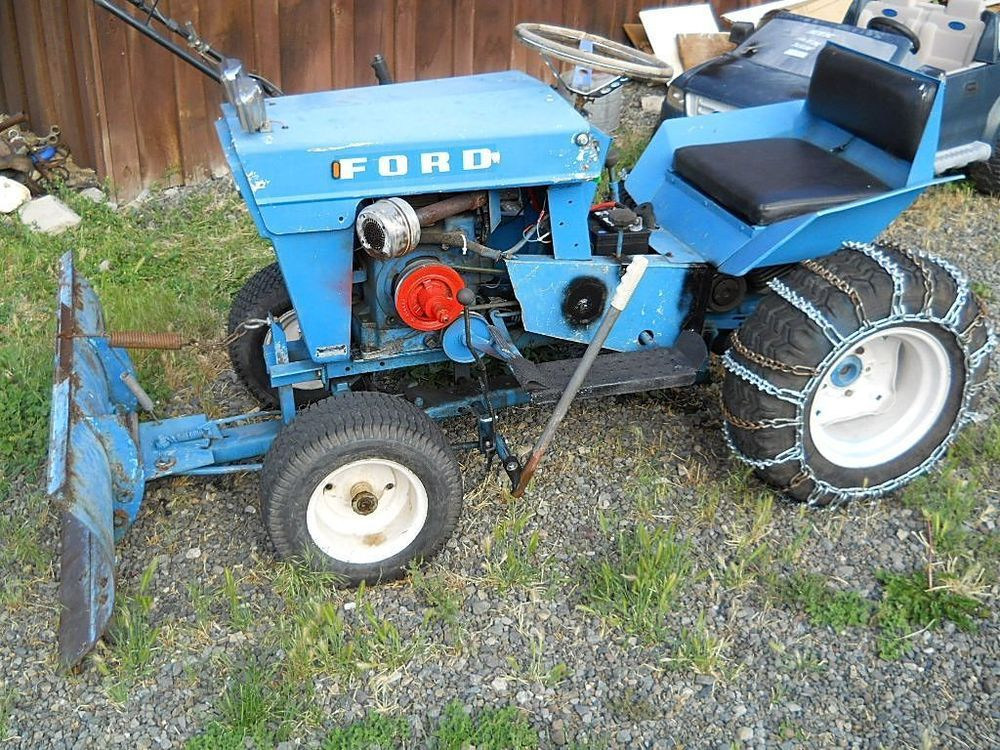 Vintage Ford Garden Tractor Garden Tractor Yard Tractors Tractors