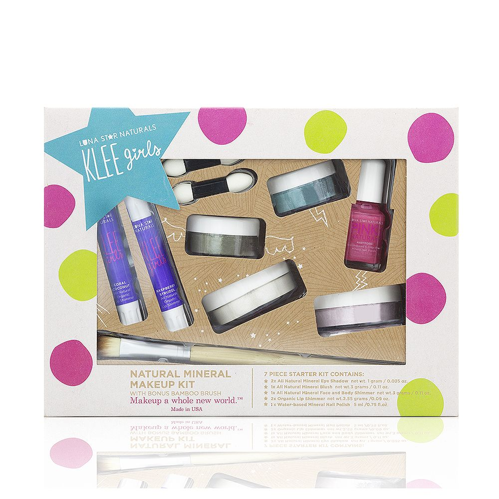 Up and Away Klee Girls Natural Mineral Makeup 7 Piece