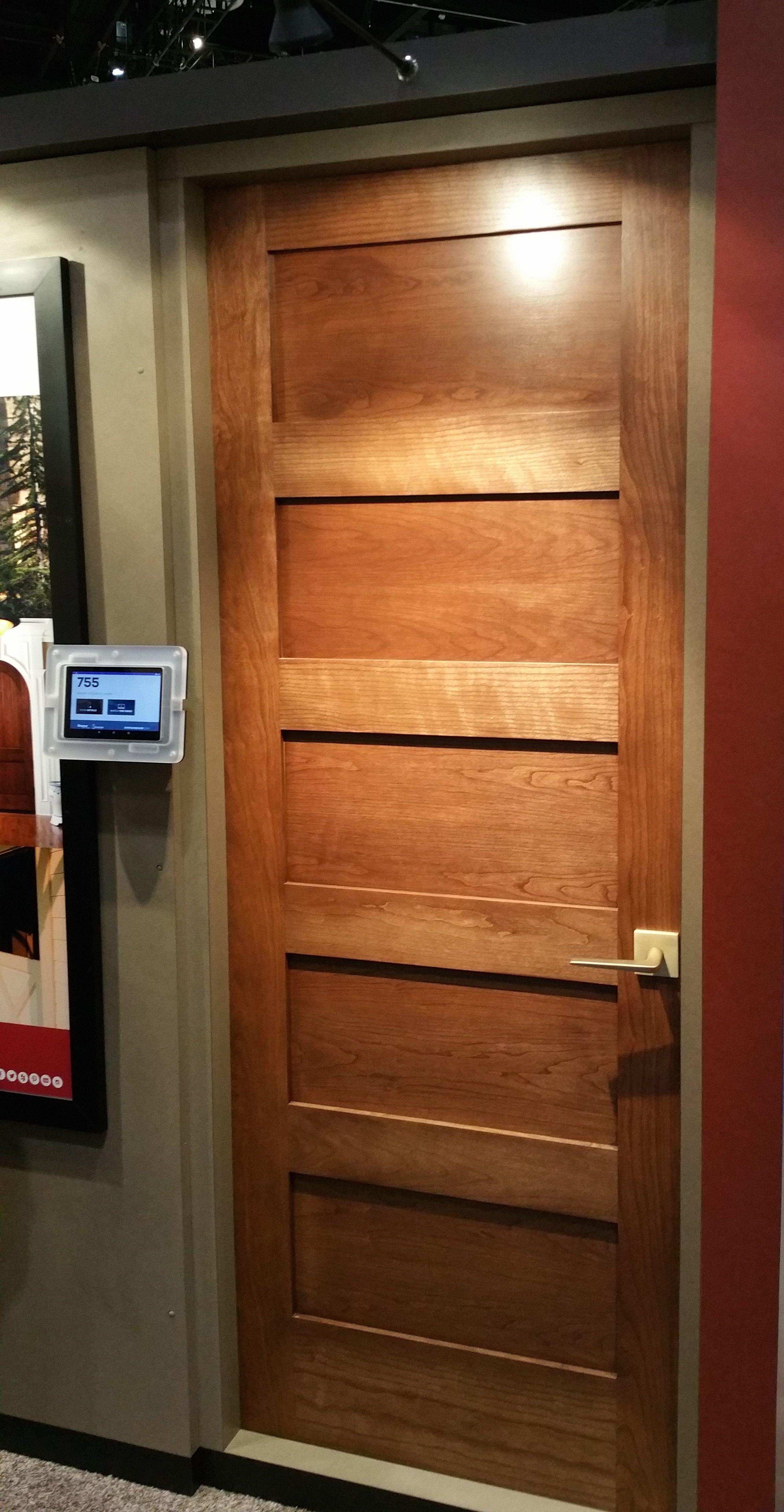 755 In Cherry Doors Interior Wood Species Interior