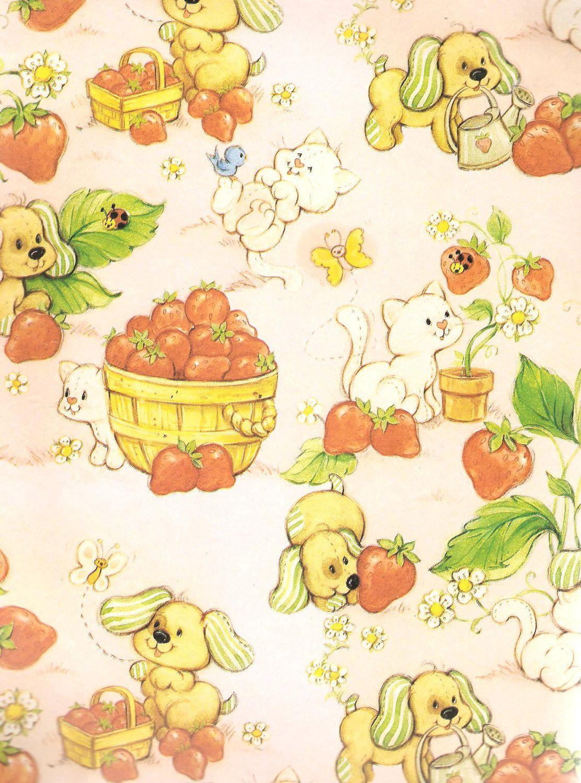 omgstrawberryshortcake | Strawberry shortcake cartoon ...  Vintage Strawberry Shortcake Wallpaper