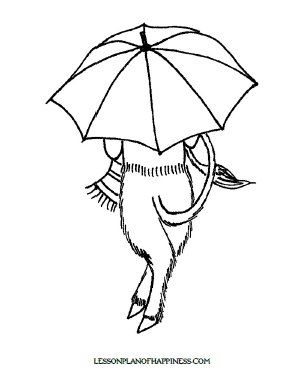 Pin By Lienna Robinette On Homeschool Inspiration Umbrella Coloring Page Coloring Pages Umbrella