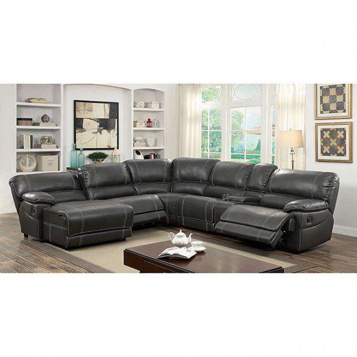 Furniture of America Estrella Sectional Las Vegas Furniture Online